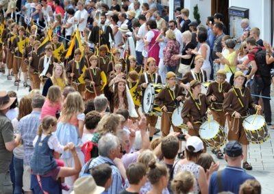 Großer historischer Festzug durch die Altstadt: Kaiserlicher Zug