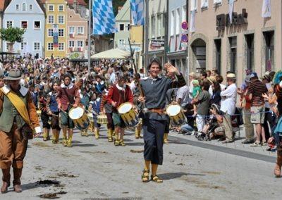 Historischer Festzug am Sonntag: Schweden